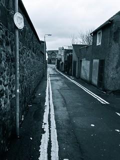 Lane (B&W), Ballymena