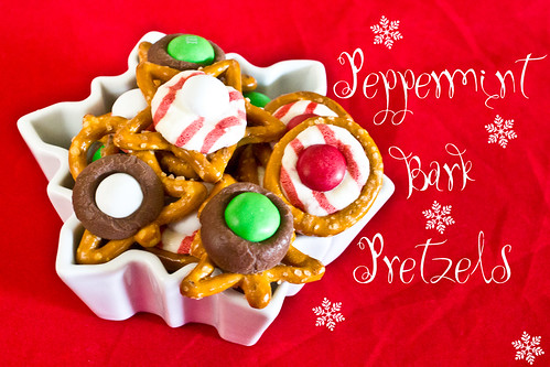 Peppermint Bark Pretzels