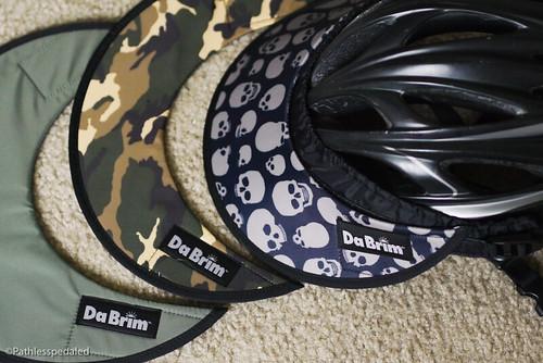 c85e172e ... here: Da Brim's Rezzo visor is the most functional bike helmet visor  ever. I'm sure there are lots of roadies cringing at something so  Fredtastic. Deal ...