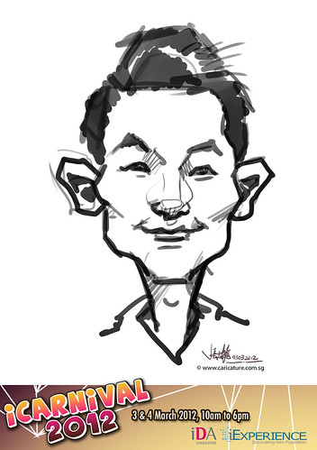 digital live caricature for iCarnival 2012  (IDA) - Day 1 - 38