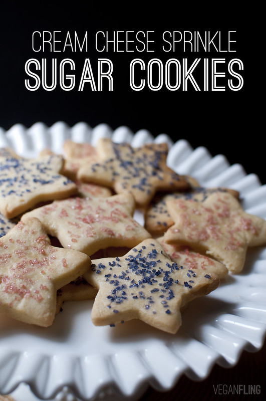 Cream Cheese Sprinkle Sugar Cookies