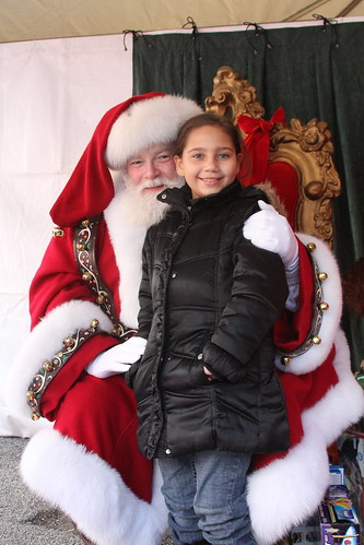 Jaylynn, 9 and Santa