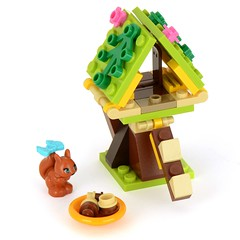 41017 Squirrel's Tree House