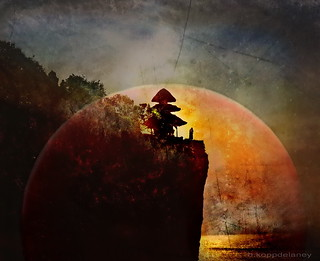 Bali Temple Monk