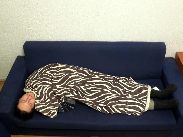 Дима спит