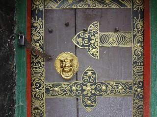 Casas tradicionais Tibete
