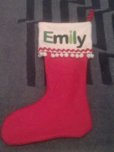 Emily's Christmas Stocking by RooKnits