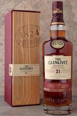 DSC_1421A - Bottle of Glenlivet 21 Year Old Scotch