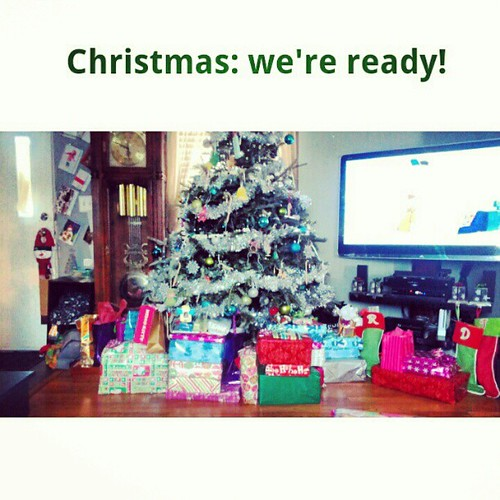 Christmas: we're ready! #christmas