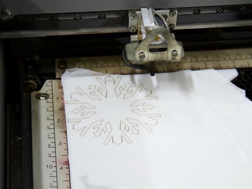 CNC Snowflakes 14