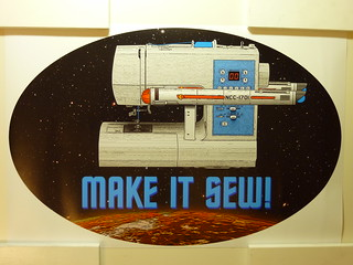 "Poster - ""Make It Sew"""