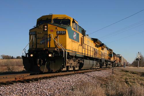 CNW 8701 Mapleton, WI
