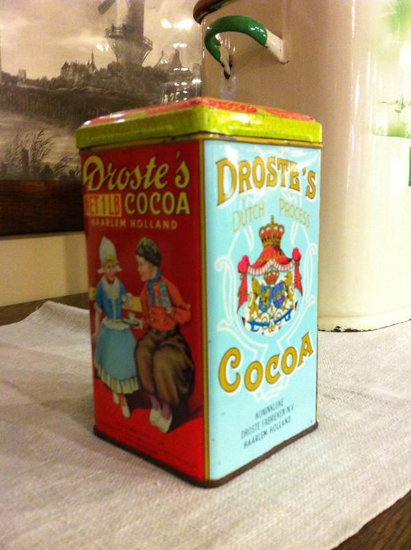 Droste's Cocoa Tin