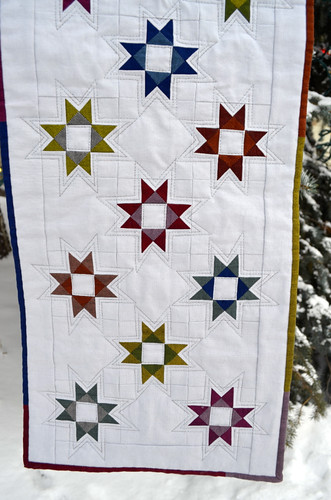 Stars, a table runner