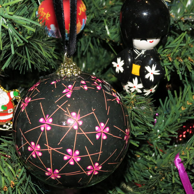 Japanese Christmas decorations from John lewis