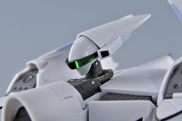 やまと 完全変形 1/60 VF-4G Lightning III バトロイド 頭部アップ