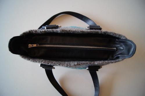 bovenkant tas Karen by ViltAtelier BodyFlower