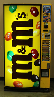 M&M Vending Machine
