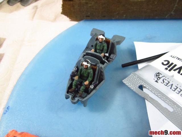Drybrushing 1/48 Revell Mi-24 Hind-D