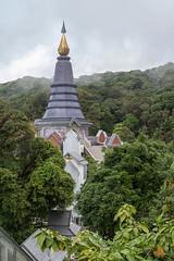 2012-11-23 Thailand Day 05, Phra Maha Dhatu Nabha Metaneed & Phra Maha Dhatu Nabhapol Bhumisiri, Doi Inthanon National Park