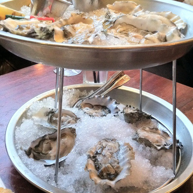 Oysters rock 39 n fish restaurant flickr photo sharing for Rock n fish restaurant