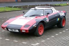 race car, automobile, lancia, vehicle, land vehicle, supercar, sports car,