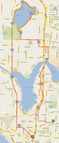 Today's awesome walk, 12.77 miles in 3:47 by christopher575