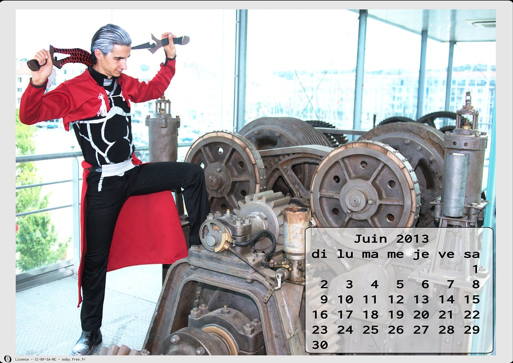 related image - Calendrier Cosplay 2013 - 06 - Juin