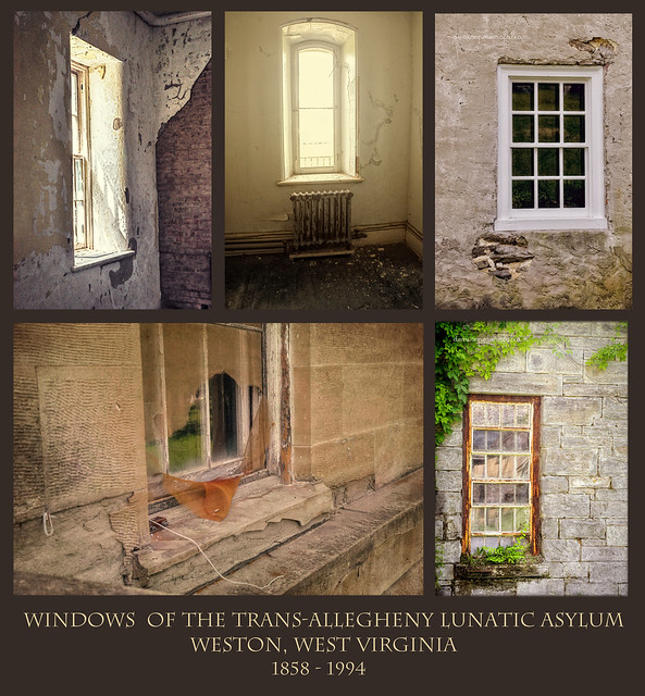 The Windows of Trans-Allegheny Lunatic Asylum