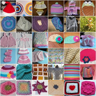 Crochet 2012-Projects I made in 2012