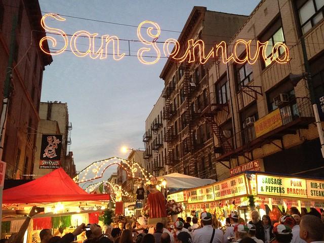 San Gennaro Festival 2012