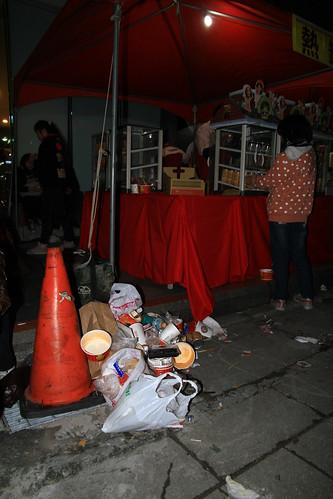 2013台北市跨年晚會垃圾-3-201212312323-賴鵬智攝-直