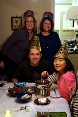 New Year's Eve Fondue 2012 by Chris & Kelly