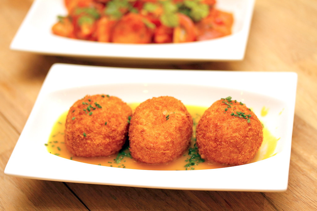 Platypus Kitchen's Risotto Balls
