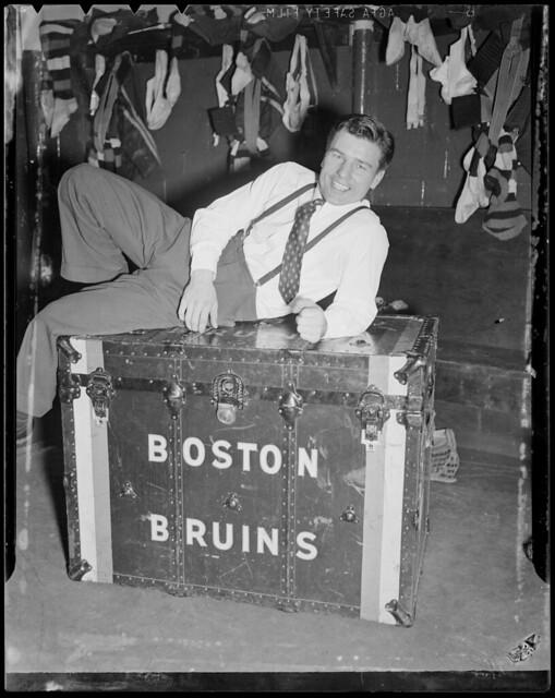 Boston Bruins Locker Room