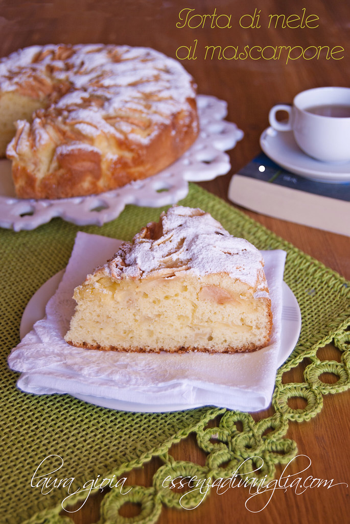 torta di mele al mascarponepsd
