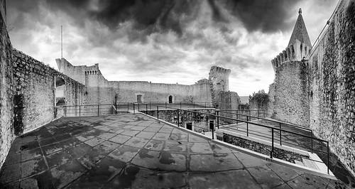 panoramic castelo ruína panorâmica terraço portodemós