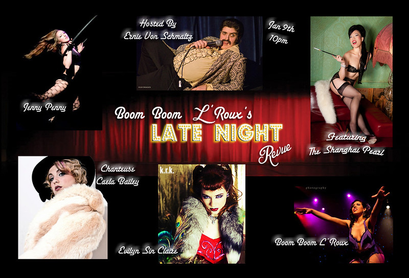 Boom Boom L'Roux's Late Night Revue
