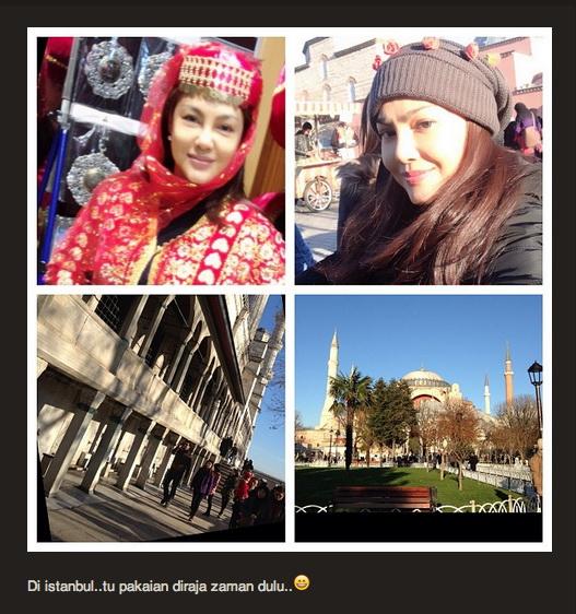 Umie Aida di Istanbul