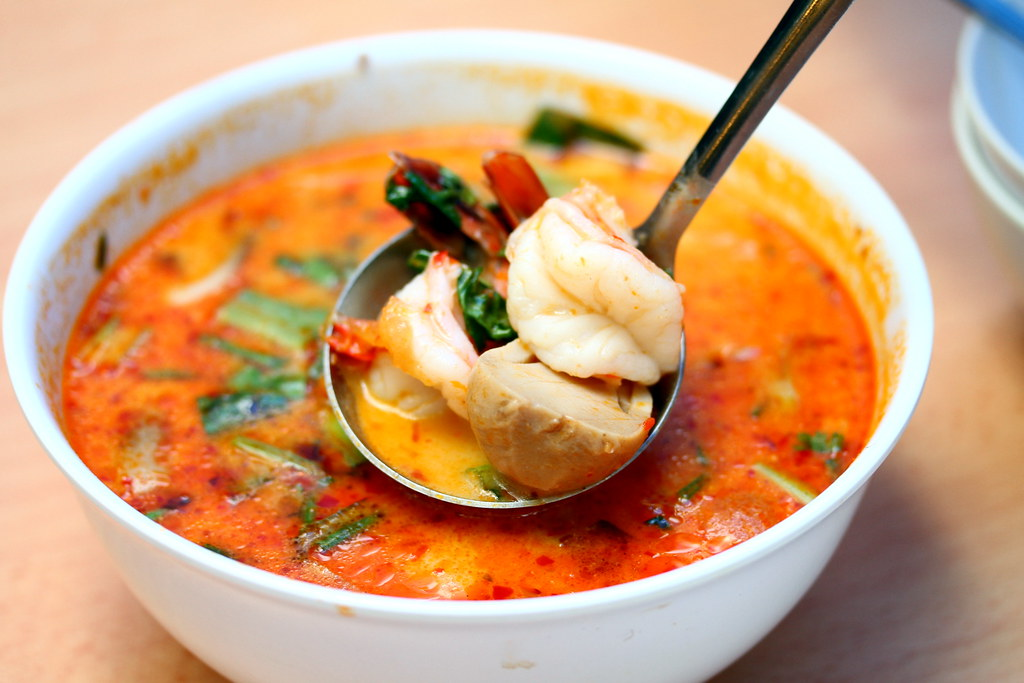 Soi Thai Kitchen: Thick Tom Yam Prawn Soup