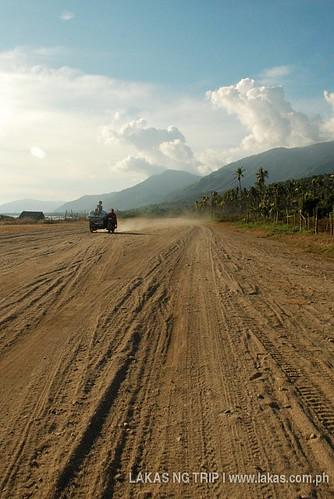 Road to San Fernando from Cajidiocan