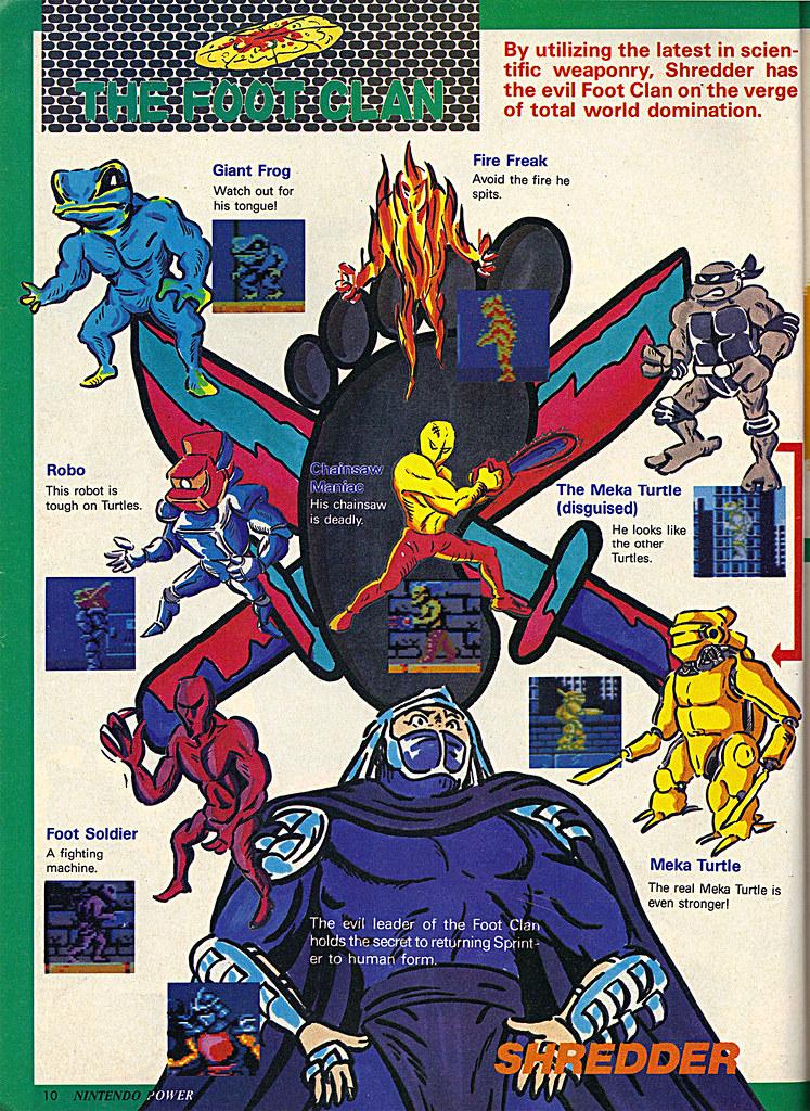 "NINTENDO POWER ::  MAY/JUNE 1989 // Vx p. 10 "" TEENAGE MUTANT NINJA TURTLES "" { original review } by tOkKa"