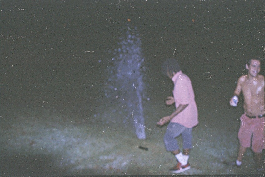 bustin' sprinklers