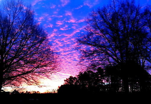 new eve sky sunrise northcarolina years