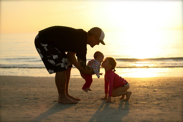 Daddy & Daughters - St. Pete's Beach, FL - Dec. 2012