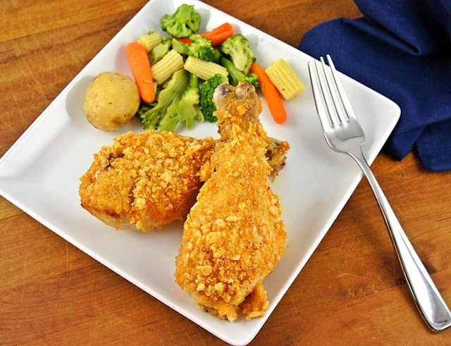 Oven 'Fried' Krispie Chicken