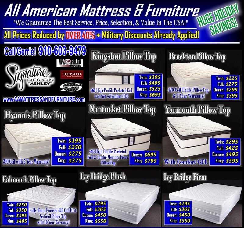 Mattress Menu HTML Part 1 (Wilm Edition)
