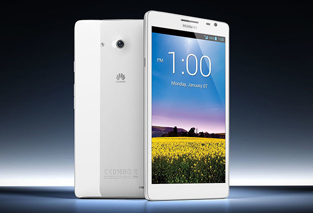 Huawei Ascend Mate — CES 2013