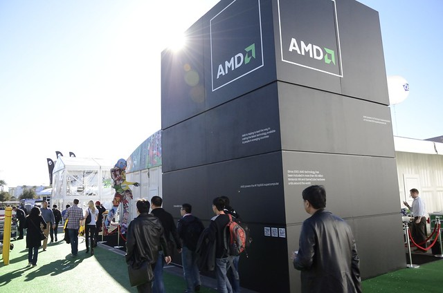 CES 2013 Outside AMD Experience Zone