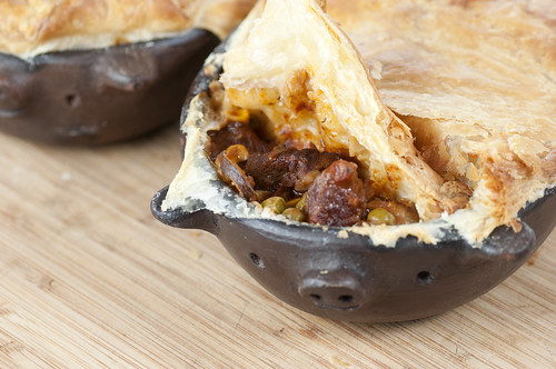 Beef & Stout Pot pie